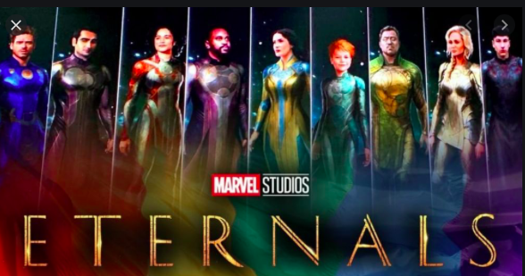Poster Film Eternal Oleh MCU Marvel